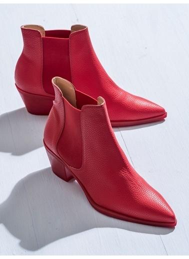 Elle Bot Kırmızı